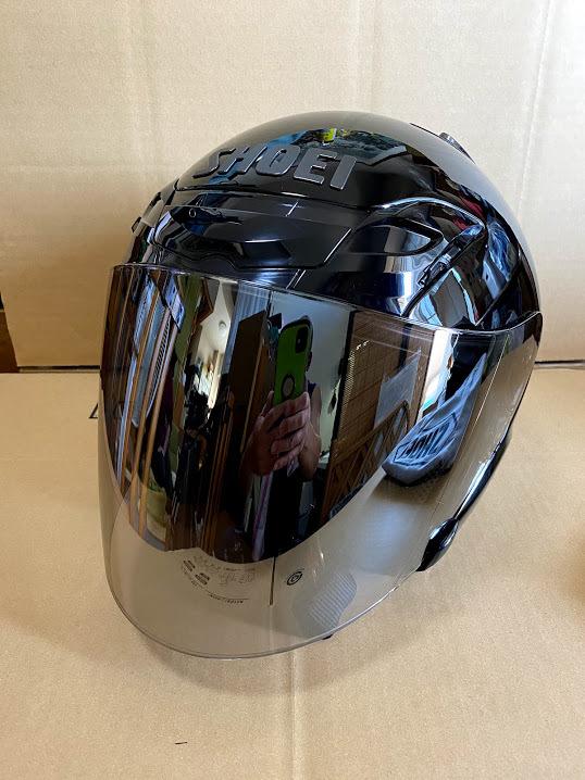 SHOEIヘルメット J-FORCE3 ブラック(Lサイズ)訳あり品
