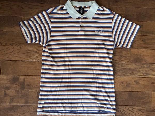送料込 即決 PAM ボーダー ポロシャツ Mサイズ perks & mini パム 半袖 polo ポロ シャツ