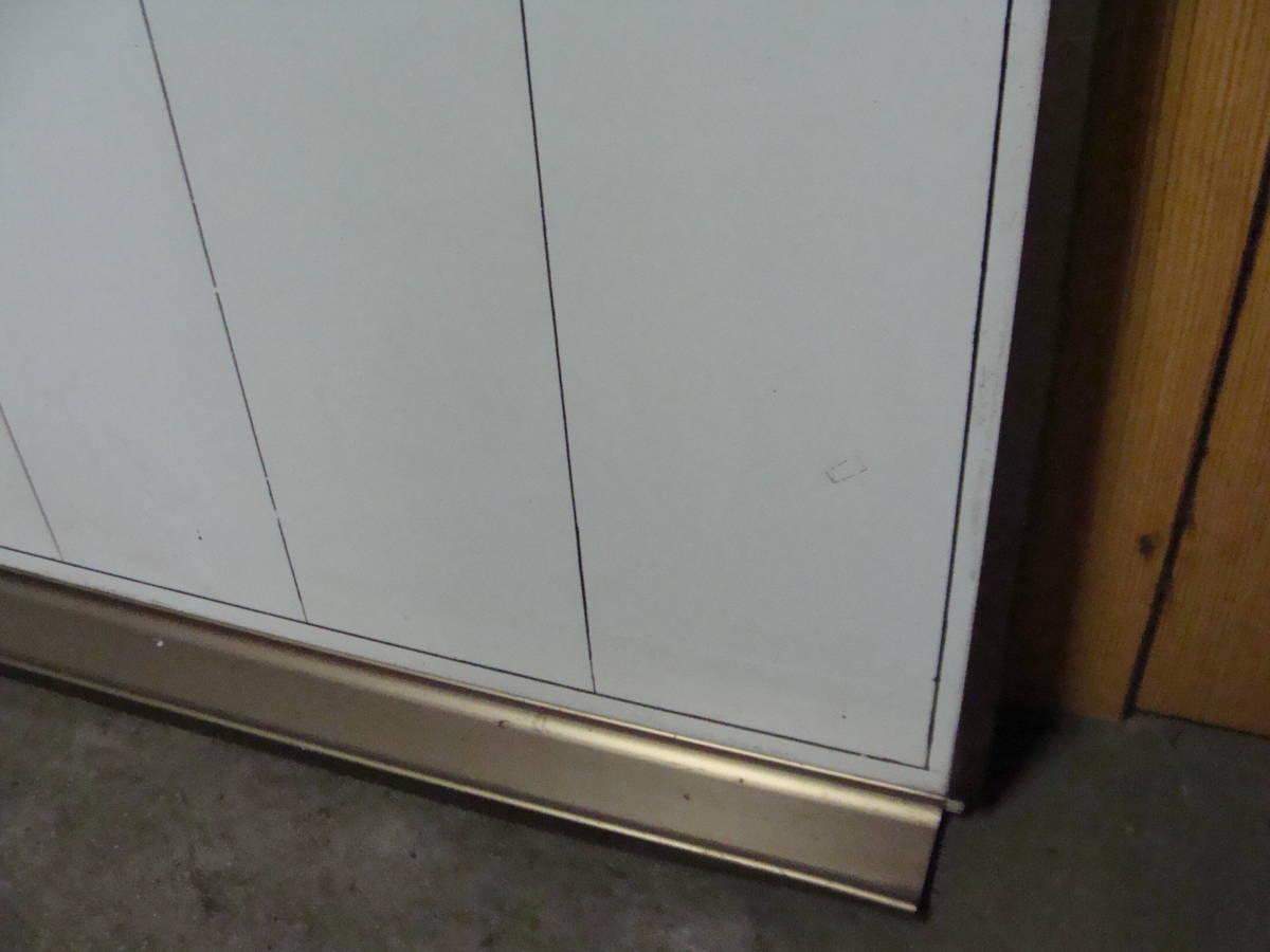 オフィス ZIM ホワイトボード ブロンズ枠 片面 幅1200x900 事務機器 店舗 会議室 スケジュール_画像4