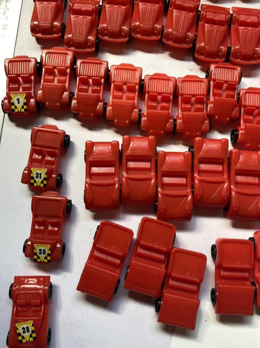 大量 当時もの ミニカー スポーツカー 旧車 昭和のおもちゃ レトロ 駄菓子屋 おもちゃ 昭和レトロ 当時物 赤_画像5