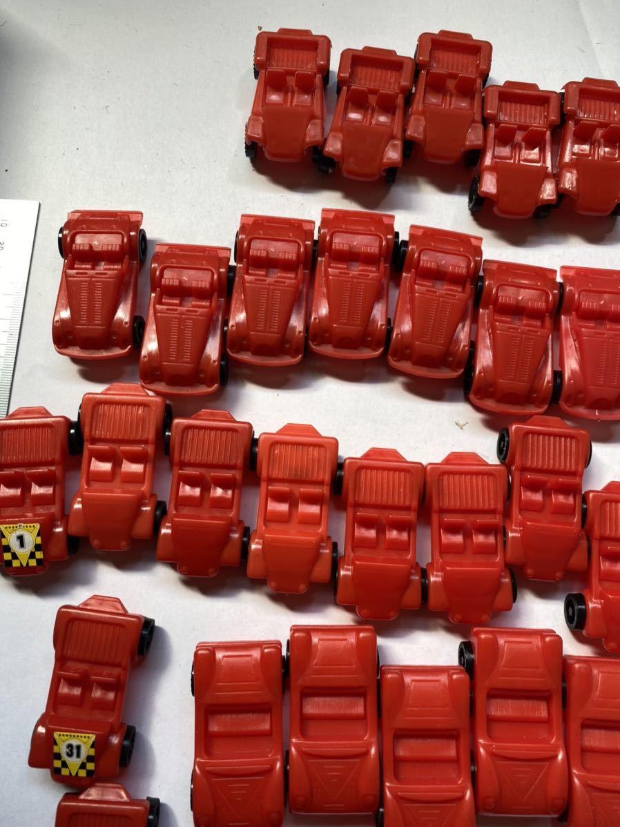 大量 当時もの ミニカー スポーツカー 旧車 昭和のおもちゃ レトロ 駄菓子屋 おもちゃ 昭和レトロ 当時物 赤_画像6