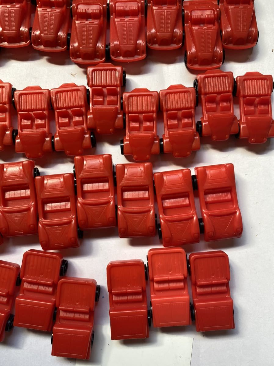 大量 当時もの ミニカー スポーツカー 旧車 昭和のおもちゃ レトロ 駄菓子屋 おもちゃ 昭和レトロ 当時物 赤_画像4