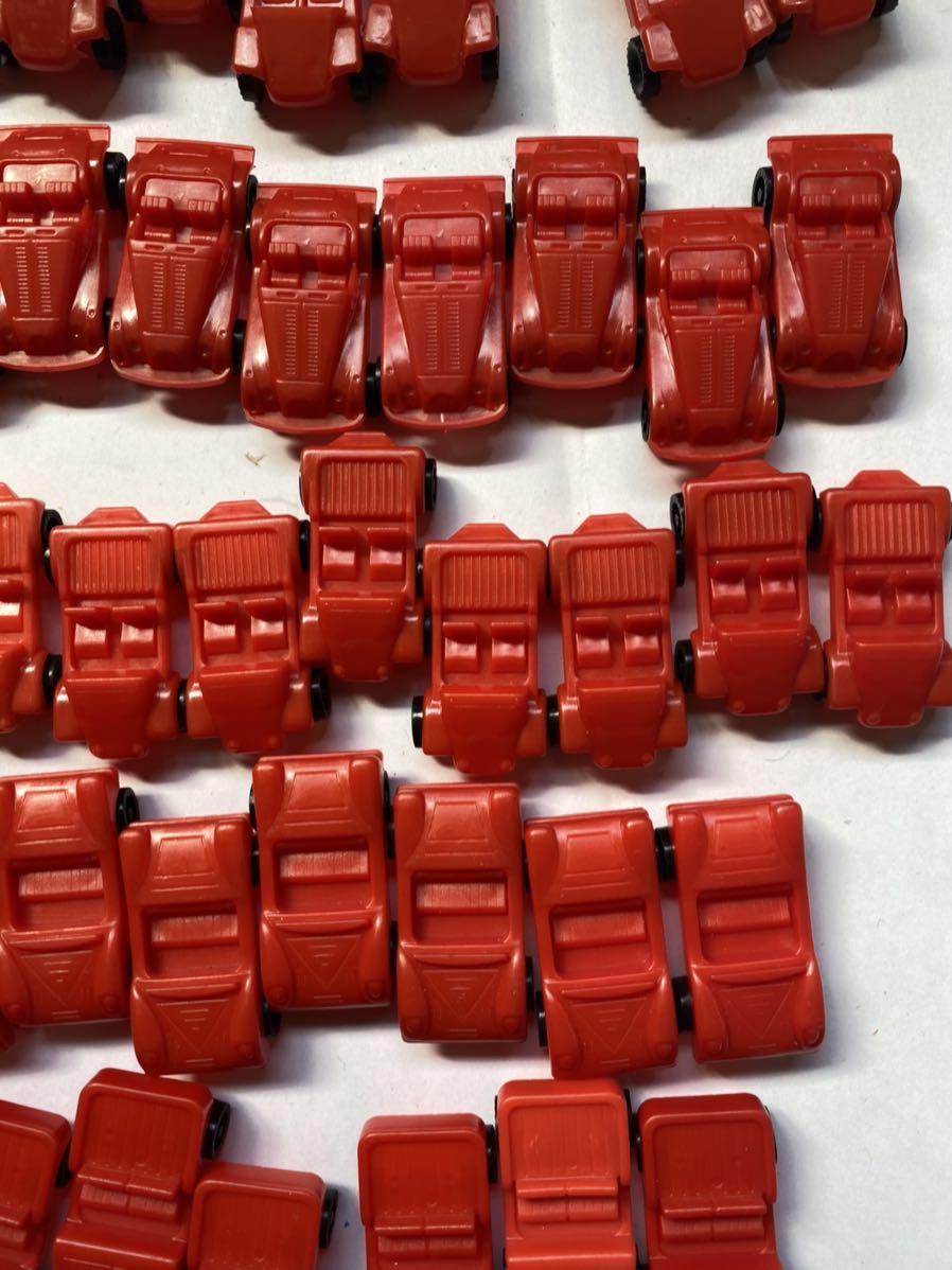 大量 当時もの ミニカー スポーツカー 旧車 昭和のおもちゃ レトロ 駄菓子屋 おもちゃ 昭和レトロ 当時物 赤_画像3
