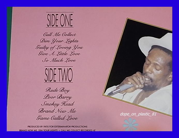 Gregory Isaacs/Call Me Collect/ダンスホール/US Original/3点以上で送料無料、10点以上で10%割引!!!/LP_画像2