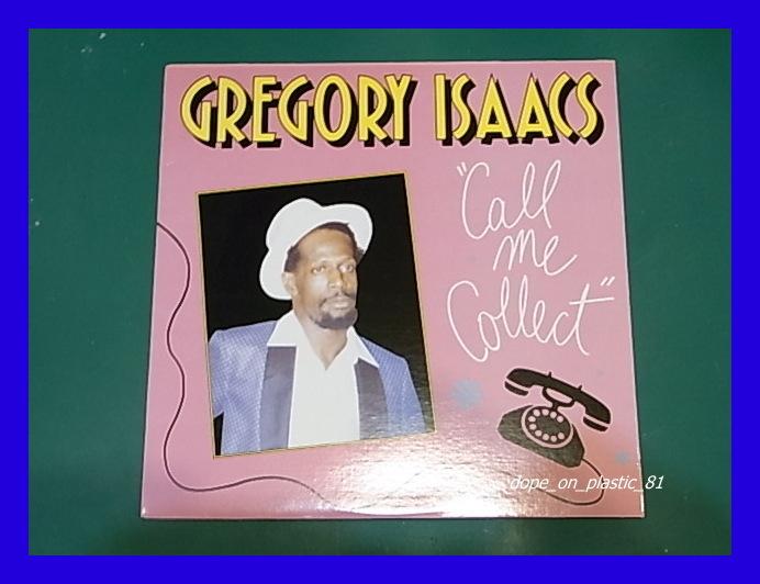 Gregory Isaacs/Call Me Collect/ダンスホール/US Original/3点以上で送料無料、10点以上で10%割引!!!/LP_画像1