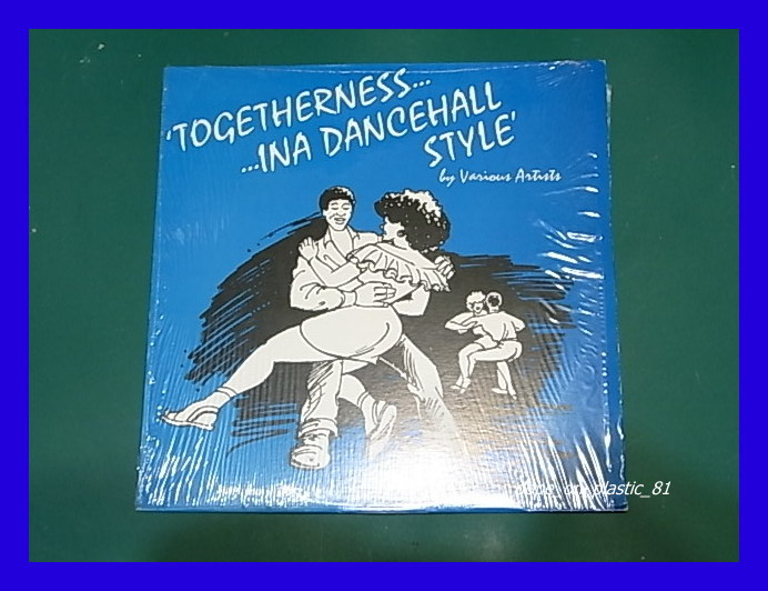 V.A./Togetherness... Ina Dancehall Style/Gregory Isaacs/Frankie Jones/ダンスホール/3点以上で送料無料、10点以上で10%割引!!!/LP_画像1