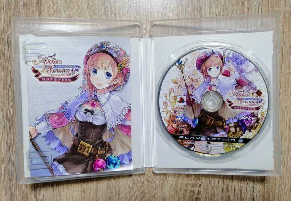 ★送料無料★PS3 ロロナのアトリエ ~アーランドの錬金術士~ Atelier Rorona ガスト GUST ゲーム GAME
