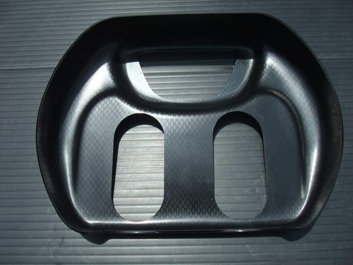 送料\520! ホンダ フォルツァ MF 06 社外 デイトナ ステアリング ステム カバー ハンドル ポスト カバー カーボン調 FORZA DAYTONA 39950_画像3