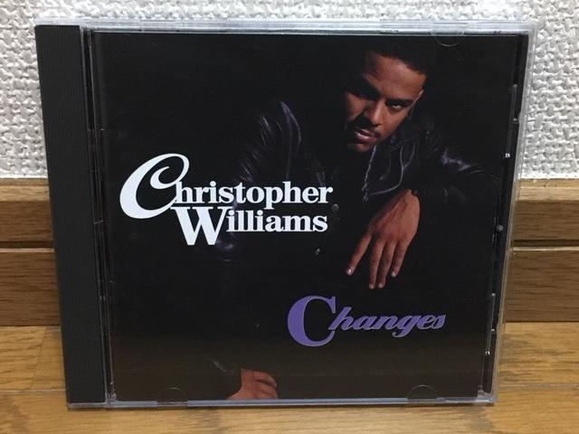 Christoper Williams / Changes ソウル R&B 名盤 輸入盤(MCA盤 品番UPTD-10751) 廃盤 Mary J.Blige Stephanie Mills FATHER MC Al B. Sure!_画像1