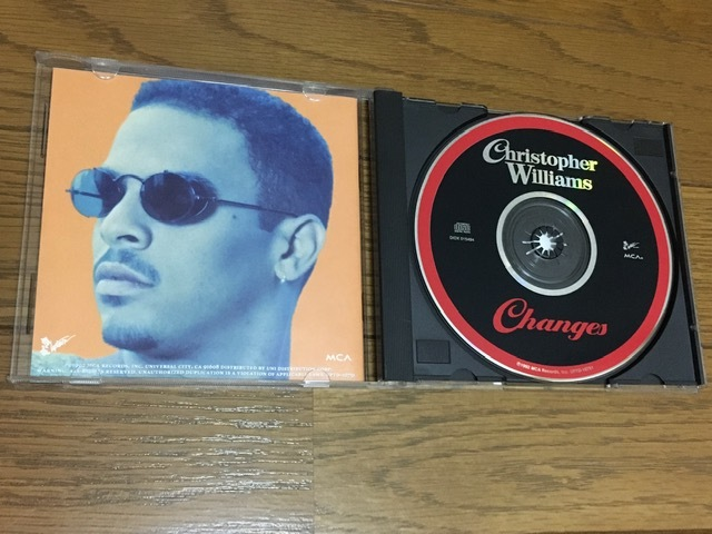 Christoper Williams / Changes ソウル R&B 名盤 輸入盤(MCA盤 品番UPTD-10751) 廃盤 Mary J.Blige Stephanie Mills FATHER MC Al B. Sure!_画像4