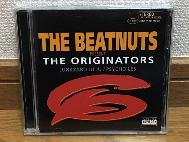 THE BEATNUTS / THE ORIGINATORS ヒップホップ ファンク 名盤 輸入盤(品番:LSR9216) 廃盤CD Tony Touch Large Professor Al Tariq Cormega_画像1