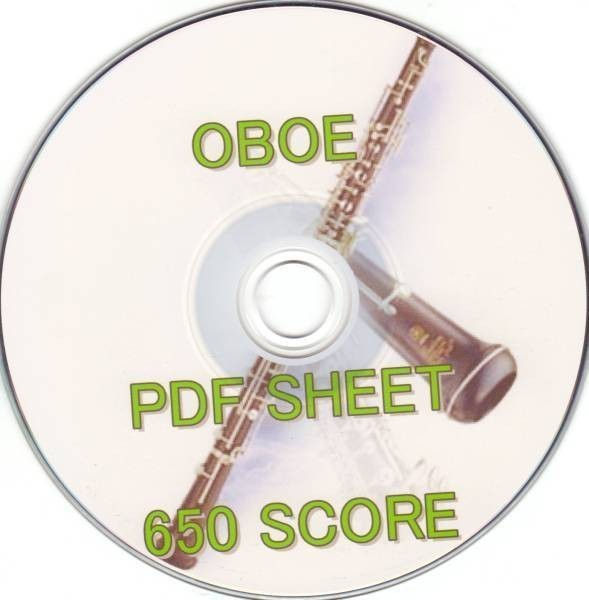 オーボエ 電子楽譜 JPDF楽譜 650譜 /木管楽器 吹奏楽 OBOE モーツァルト iPad pro mini iphoneXR iphone11 練習 初心者 ホルン 笛 フルート_画像1