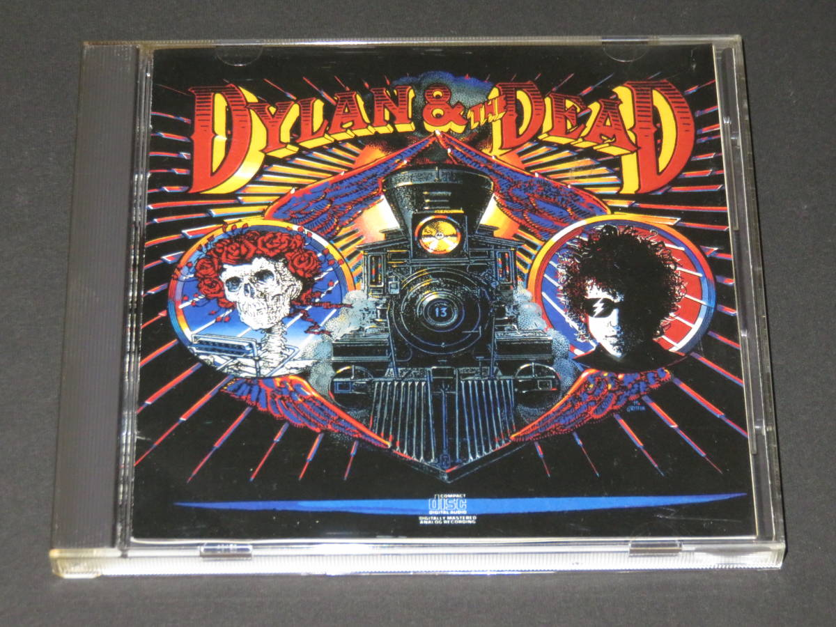 ◆Bob Dylan & The Grateful Dead◆ Dylan & the Dead CD ボブ・ディラン グレイトフル・デッド 輸入盤_画像1
