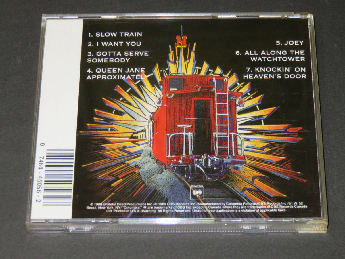 ◆Bob Dylan & The Grateful Dead◆ Dylan & the Dead CD ボブ・ディラン グレイトフル・デッド 輸入盤_画像2