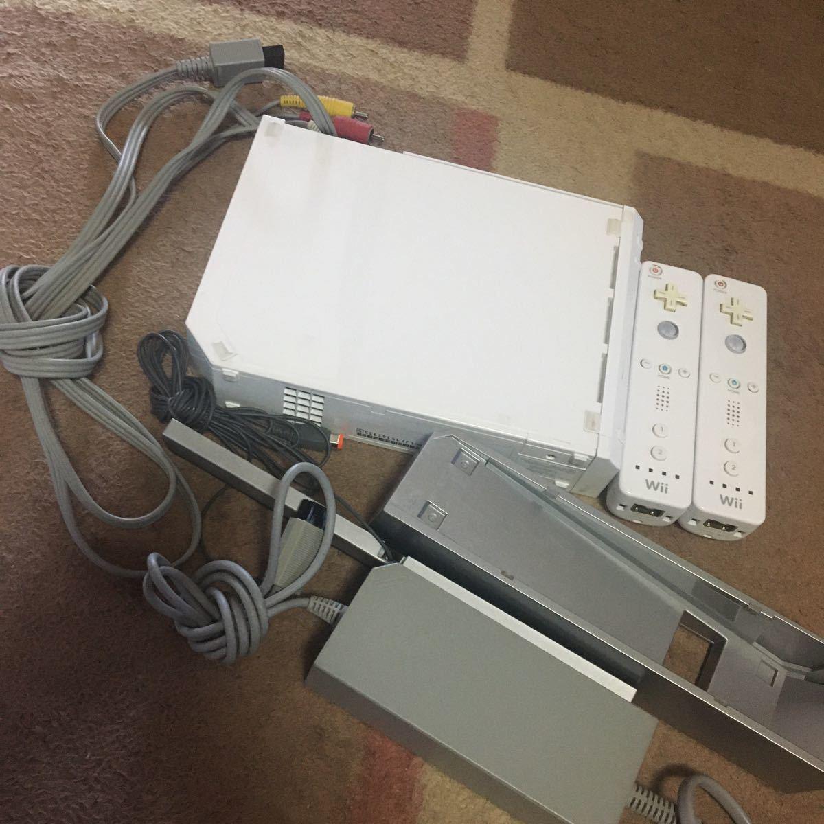 任天堂Wii シロ Nintendo Wii 任天堂