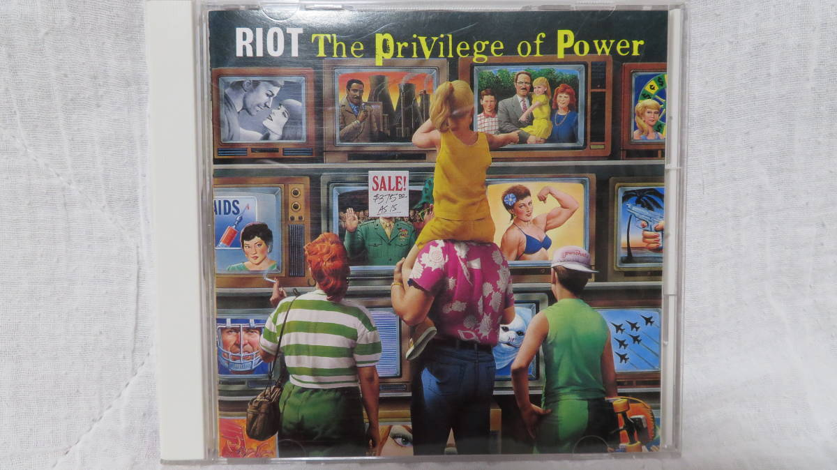 RIOT (The Privilege of Power) 中古 送料込み