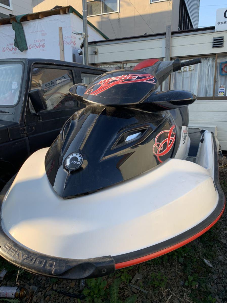 「北海道札幌市より ジェットスキー 整備済み seadoo ウエイク155 船体のみ 美品 売り切り」の画像1