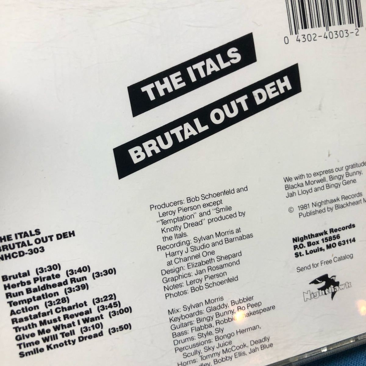The Itals / Brutal Out Deh
