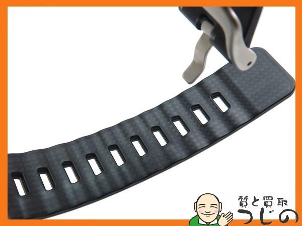 カシオ プロトレック PRW-6100Y-1JF 電波ソーラー 黒×オレンジ トリプルセンサー 箱付 美品 質屋 つじの_画像8