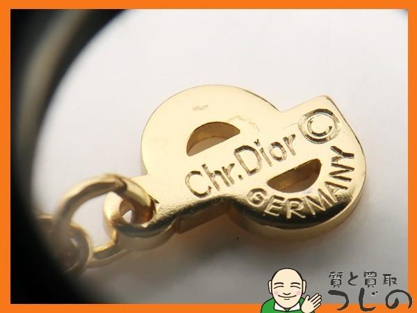 ディオール GP ネックレス ラインストーン Chr.Dior GERMANY ドイツ製 アンティーク 質屋 つじの_画像9