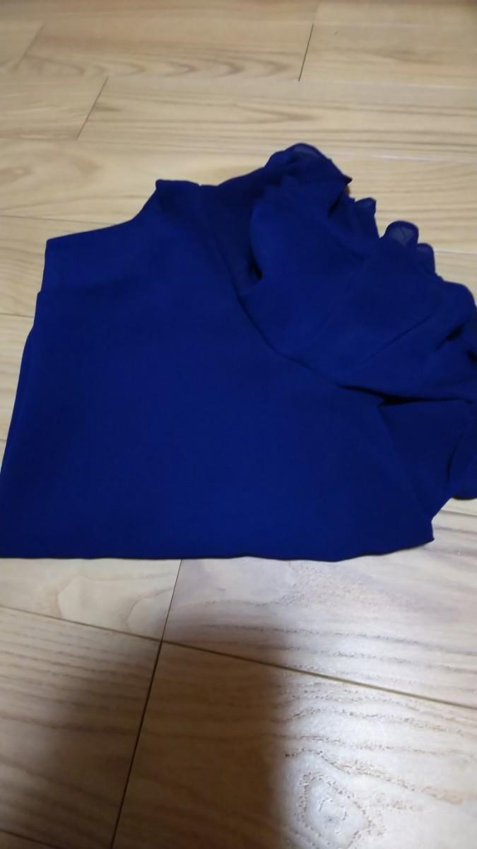 半袖カットソー トップス ネイビーカラー