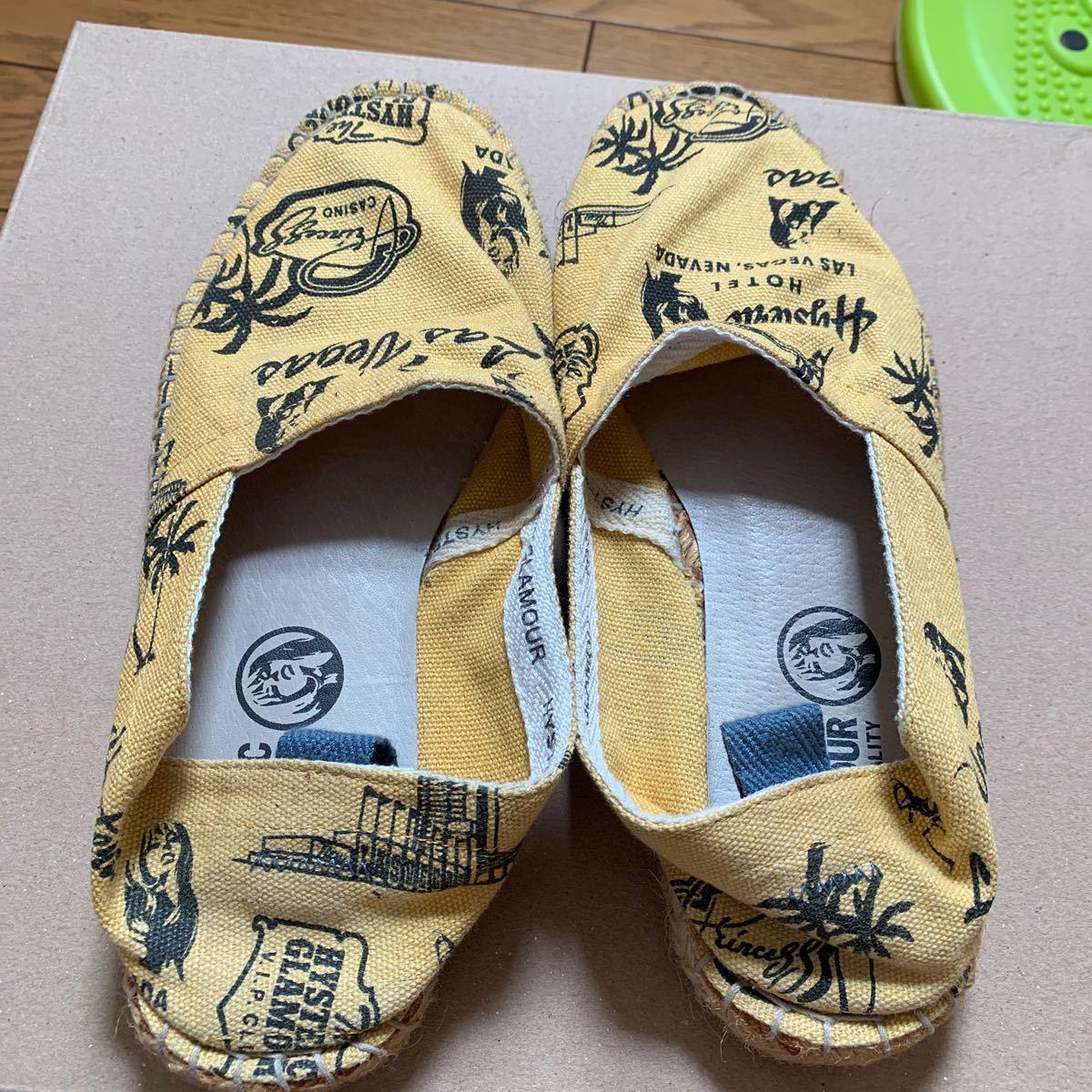 ヒステリックグラマー 靴 スニーカー ペナッシ スリッポン