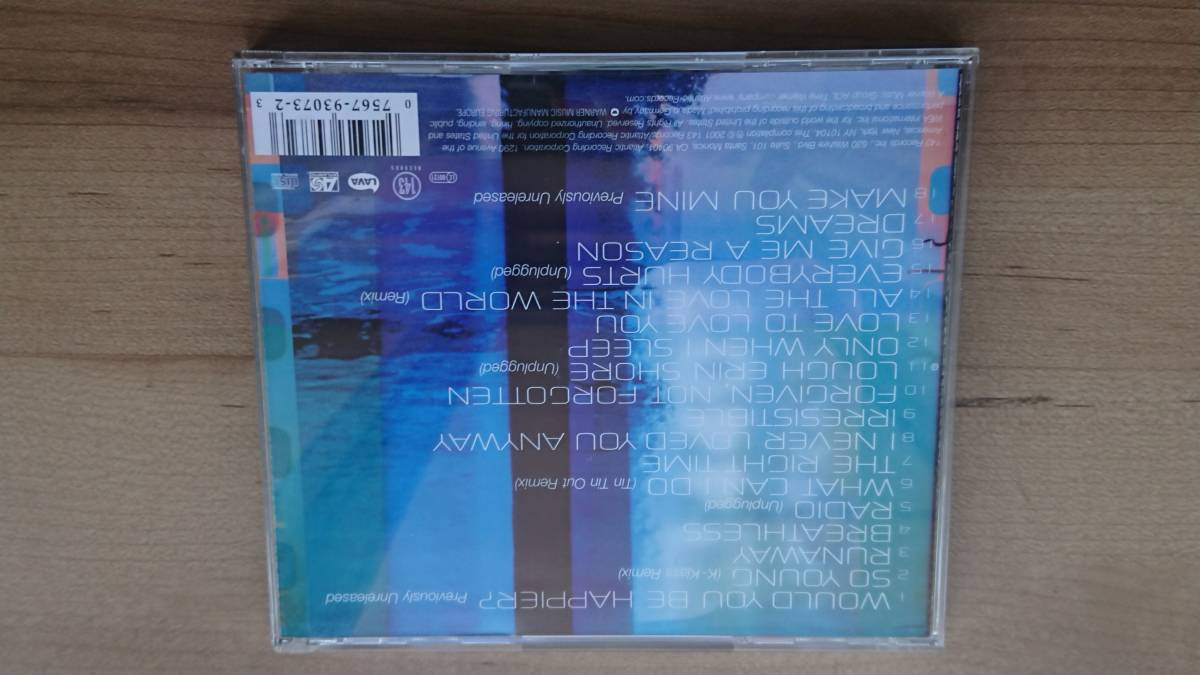 ☆CD ザ・コアーズ(The CORRS) 「best of the CORRS」 輸入盤☆_画像4