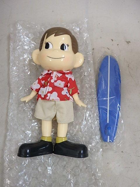 フィギュア ペコちゃん ボブルヘッド 首ふり 人形(髪にハゲあり) スポーツポコちゃん+着物ペコちゃん 2個未使用か _画像5