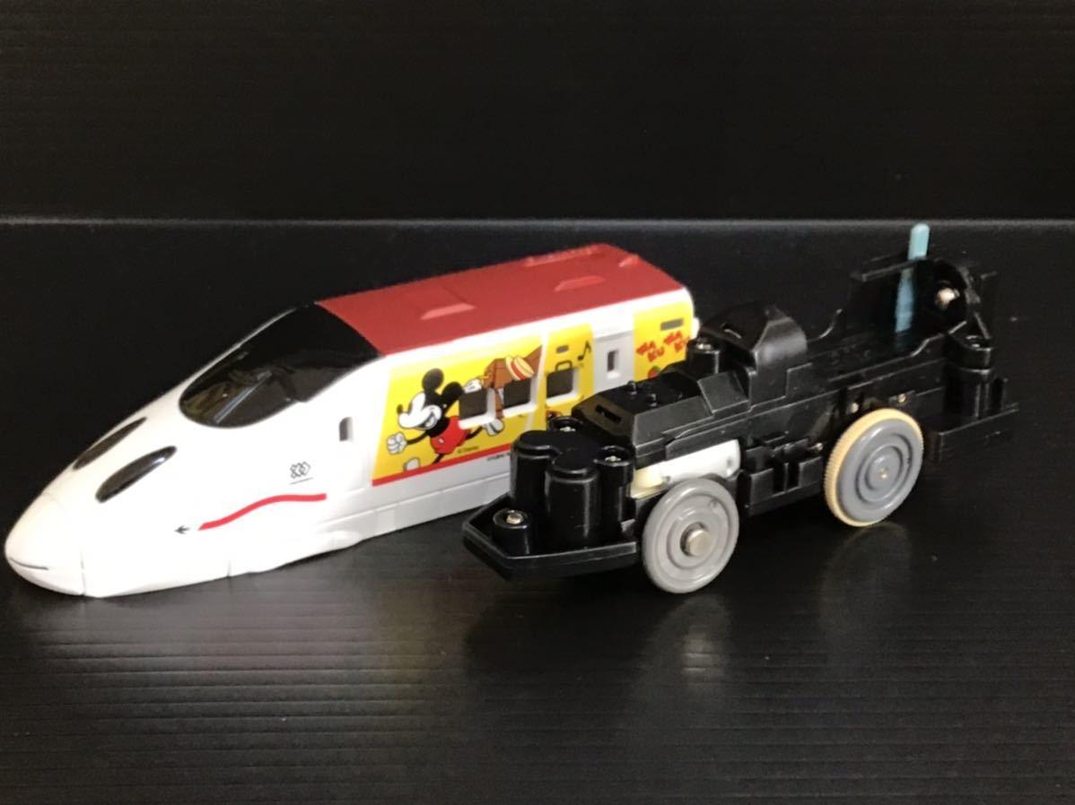 プラレール 車両 大量 新動力モーター JR九州 ワクワクトリップ ミッキー つばめ_画像2
