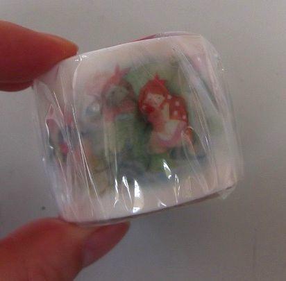 ★新品 可愛い マスキングテープ 35mm 少女 鳥 お花 フラワー 女性 マステ★_画像1
