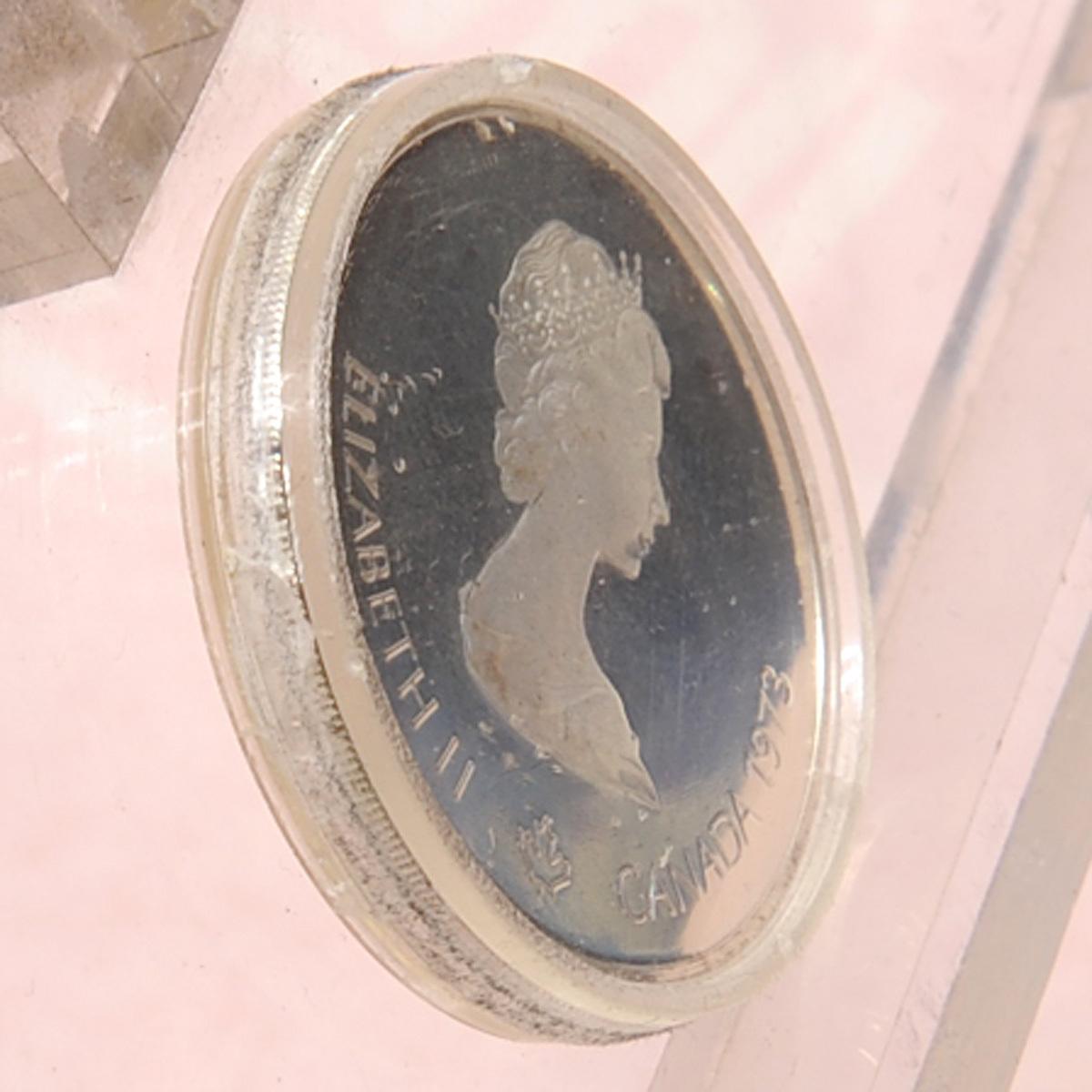 モントリオールオリンピック 10ドル銀貨×2枚 5ドル銀貨×2枚 送料無料 【m76】 1976年 カナダ COJO76 RENWICK 記念硬貨 エリザベス2世_画像5