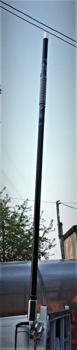 am-VU 目立つ!新品未使用 トップローディング ★アマチュア無線用デコトラデュアルバンドV/Uアンテナ(145/430MHz)★日本製_画像5