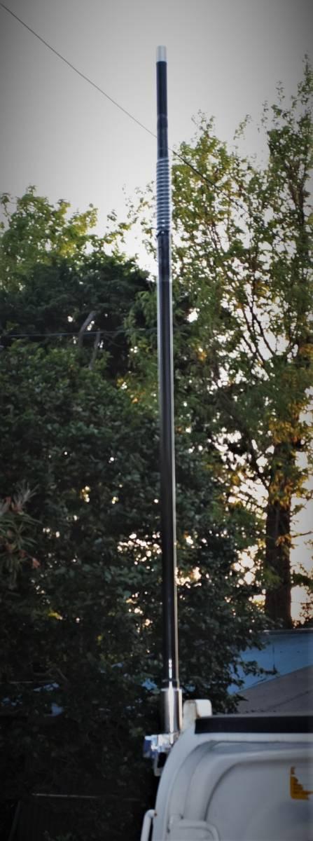 am-VU 目立つ!新品未使用 トップローディング ★アマチュア無線用デコトラデュアルバンドV/Uアンテナ(145/430MHz)★日本製_画像7
