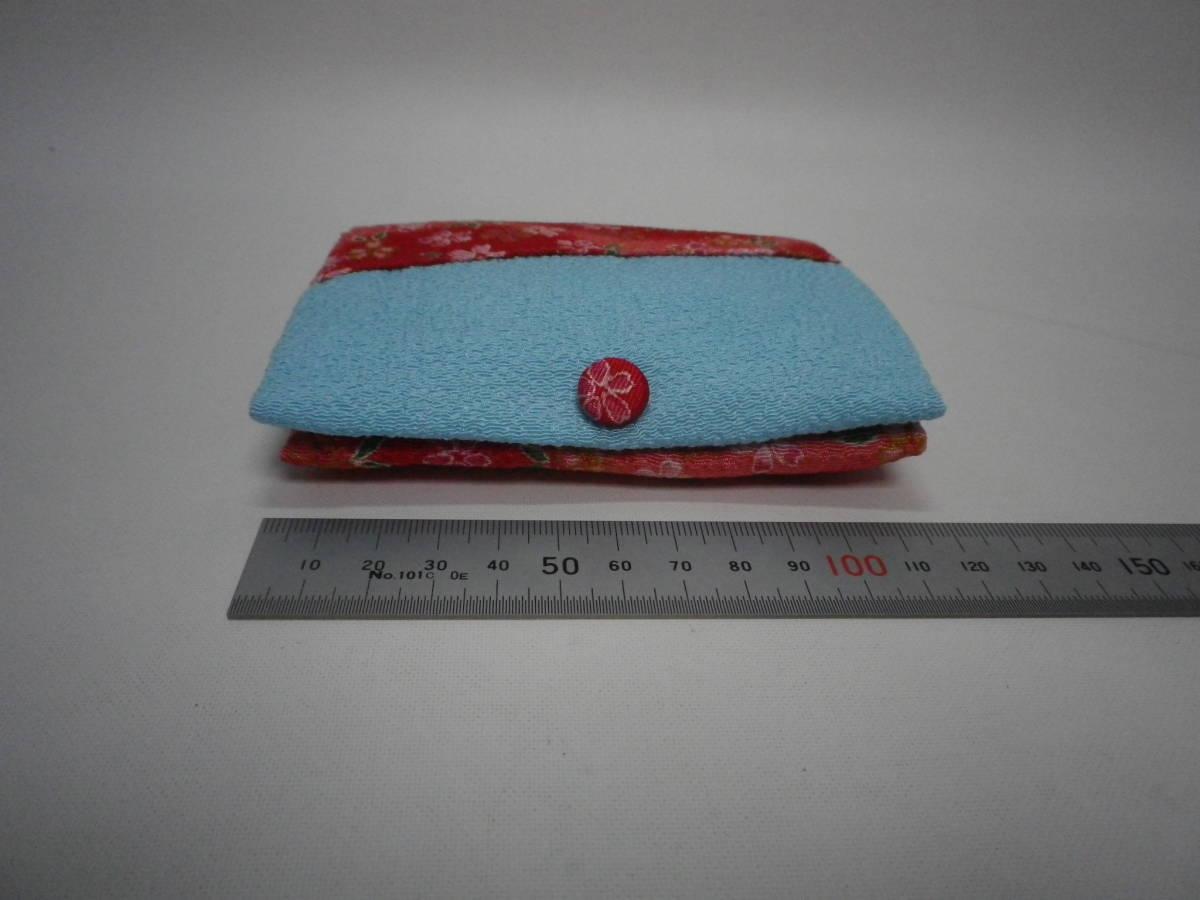「ポケットティッシュケース・ハンドメイド」未使用【送料無料】「おかあさんのお針箱」00200248