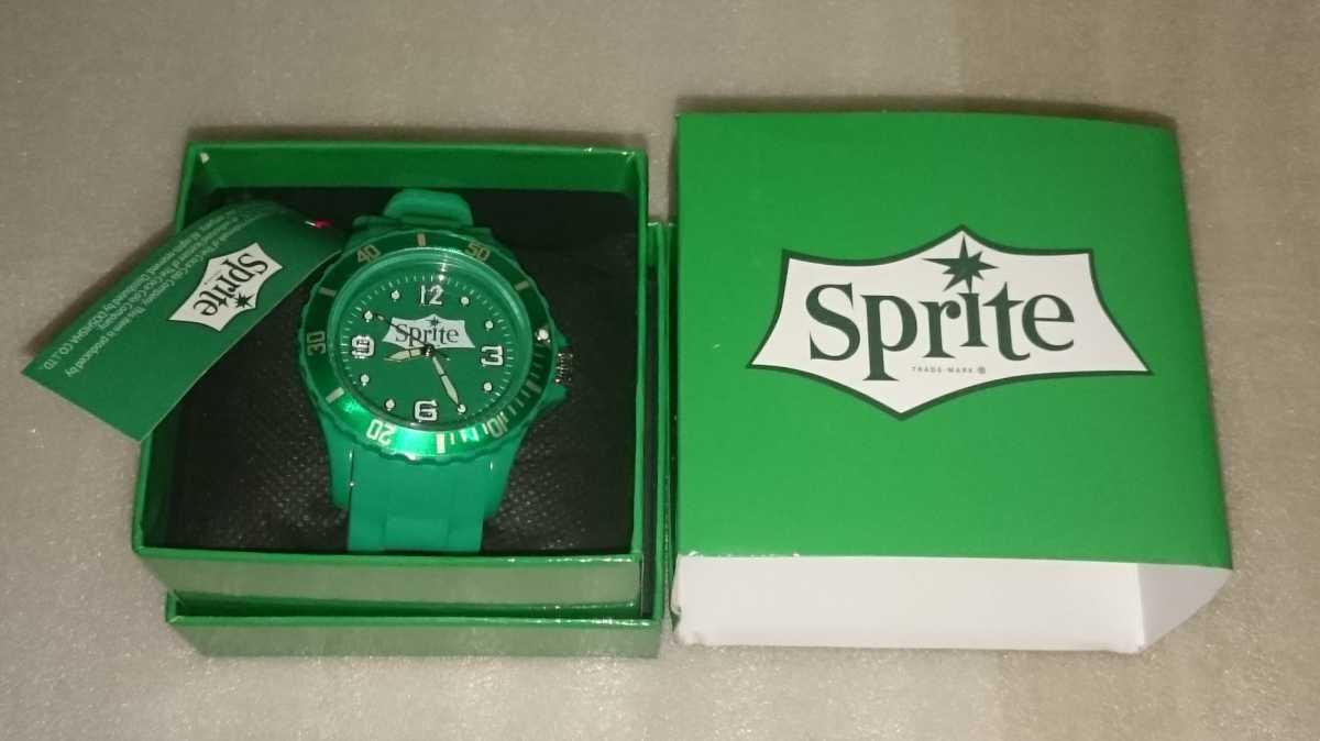 数量2 定形外300円 新品・未使用【スプライト/Sprite(緑)】シリコンウォッチ 腕時計_画像1