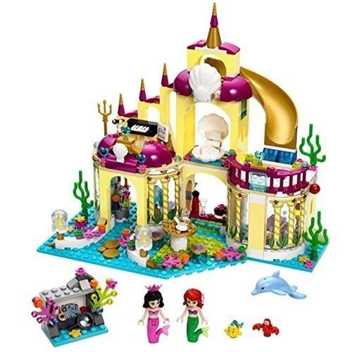 ★最安 安心の国内対応★LEGO レゴ ブロック プリンセス 41063 互換品 アリエルの海の宮殿 ミニフィグ付き_画像1