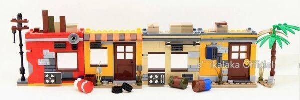 ★最安 安心の国内対応★MOC LEGO レゴ 互換 PUBG プレイヤーアンノウンズ バトルグラウンズ 建物 ミニフィグ 6体セット大量武器装備付き_画像6