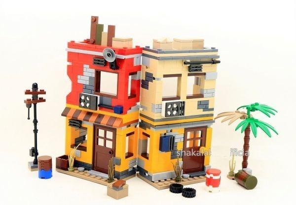 ★最安 安心の国内対応★MOC LEGO レゴ 互換 PUBG プレイヤーアンノウンズ バトルグラウンズ 建物 ミニフィグ 6体セット大量武器装備付き_画像4