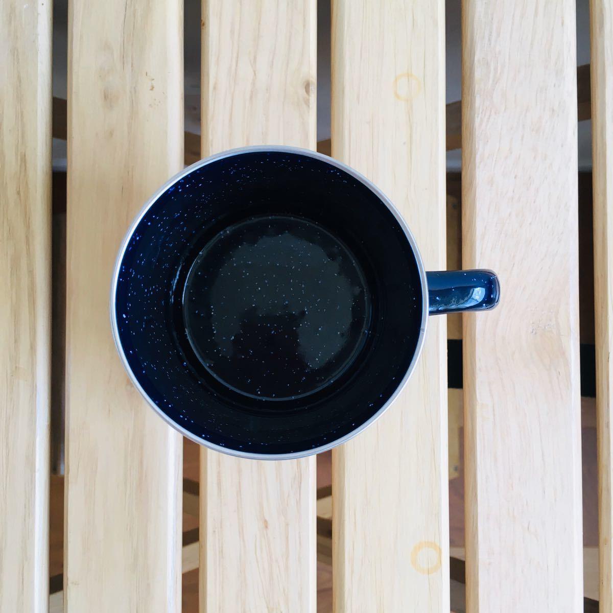 【値下げ不可】ホーロー マグカップ 4個セット ペアカップ