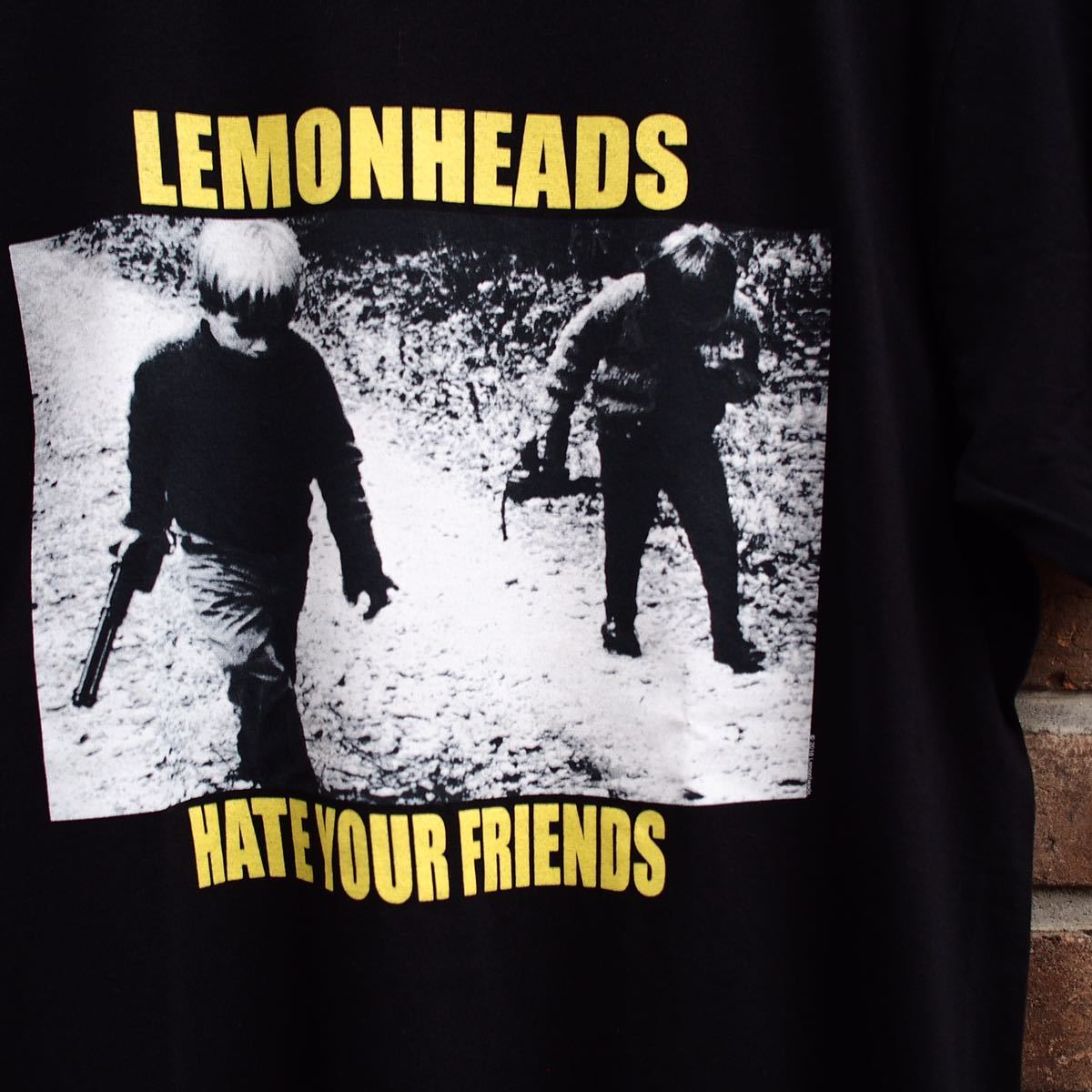 Official [The Lemonheads] Size M レモンヘッズ Tシャツ Nirvana Blur Sonic Youth oasis joy division Smiths Cure R.E.M. ビンテージ_画像2
