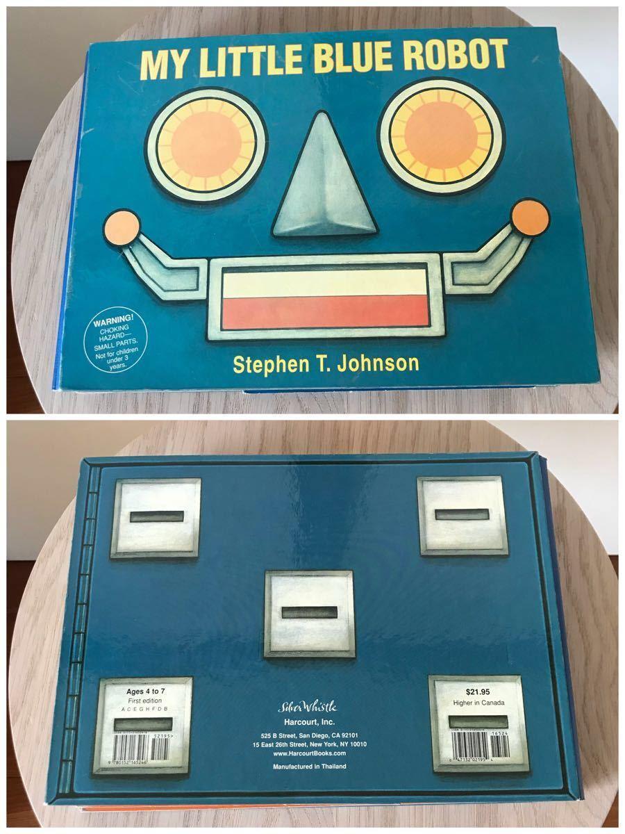 レア ☆ My Little Blue Robot ボートブック 組立て絵本