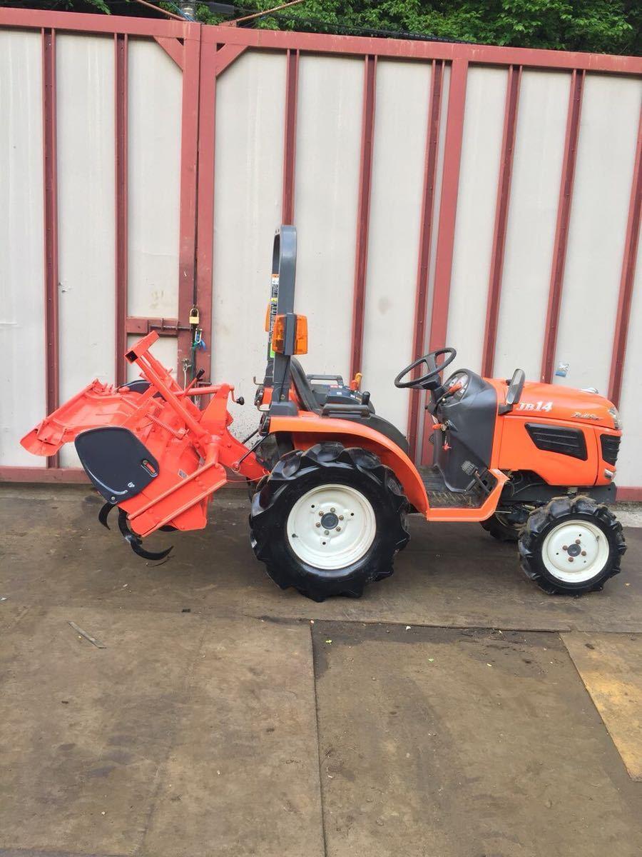 【中古】クボタ 乗用型農用トラクター JB14 4WD Kubota 農機具 耕運機 耕うん機