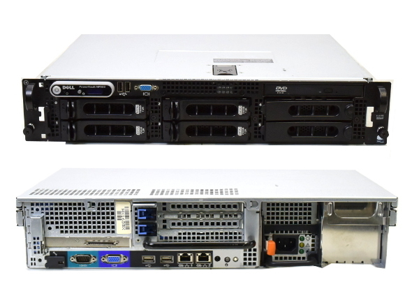 DELL PowerVault NF500 III Xeon5110-1.6GHz/2G/750G*4/RAID/DVD_画像2