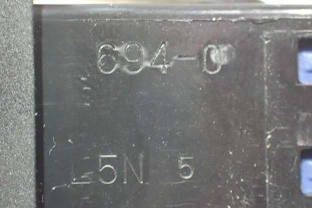 平成28年 デイズ ルークス B21A 前期 純正 パワースライドドアON/OFFスイッチ 中古 即決_画像4