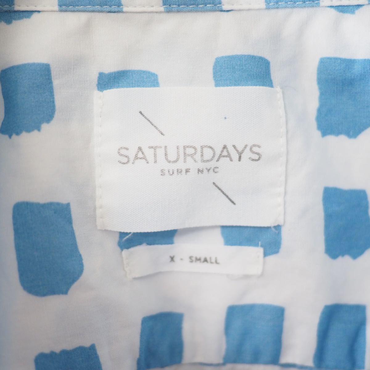 Saturdays Surf NYC 総柄BDシャツ