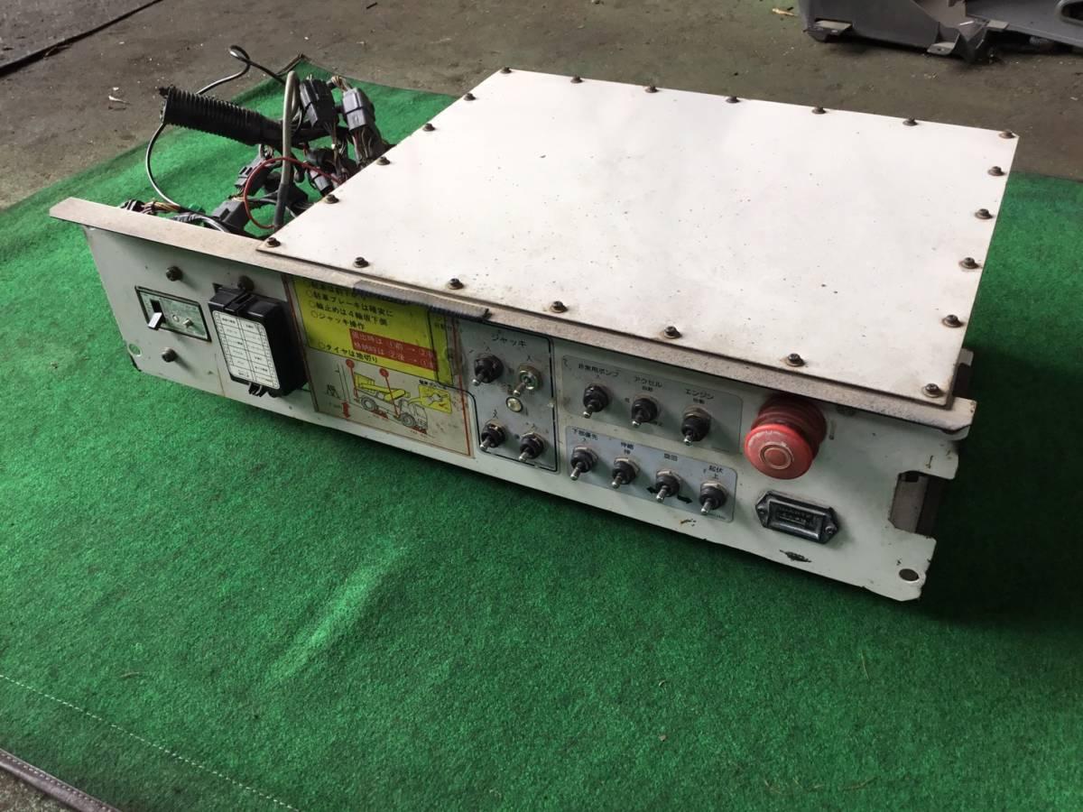 H.15年 アイチ 高所作業車 下部操作盤 ヤフオク Xf5 20523 即日発送可 SS10A_画像2