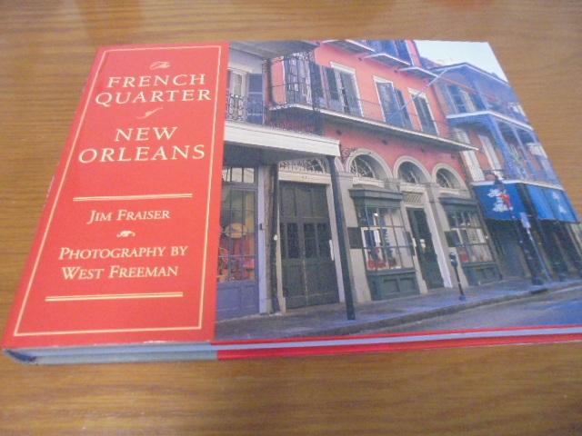 洋書The French Quarter of New Orleans ニューオリンズのフレンチクォーター写真集 旧市街の建築物 スタイル 歴史 _画像1