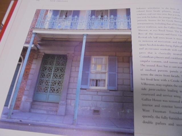 洋書The French Quarter of New Orleans ニューオリンズのフレンチクォーター写真集 旧市街の建築物 スタイル 歴史 _画像8