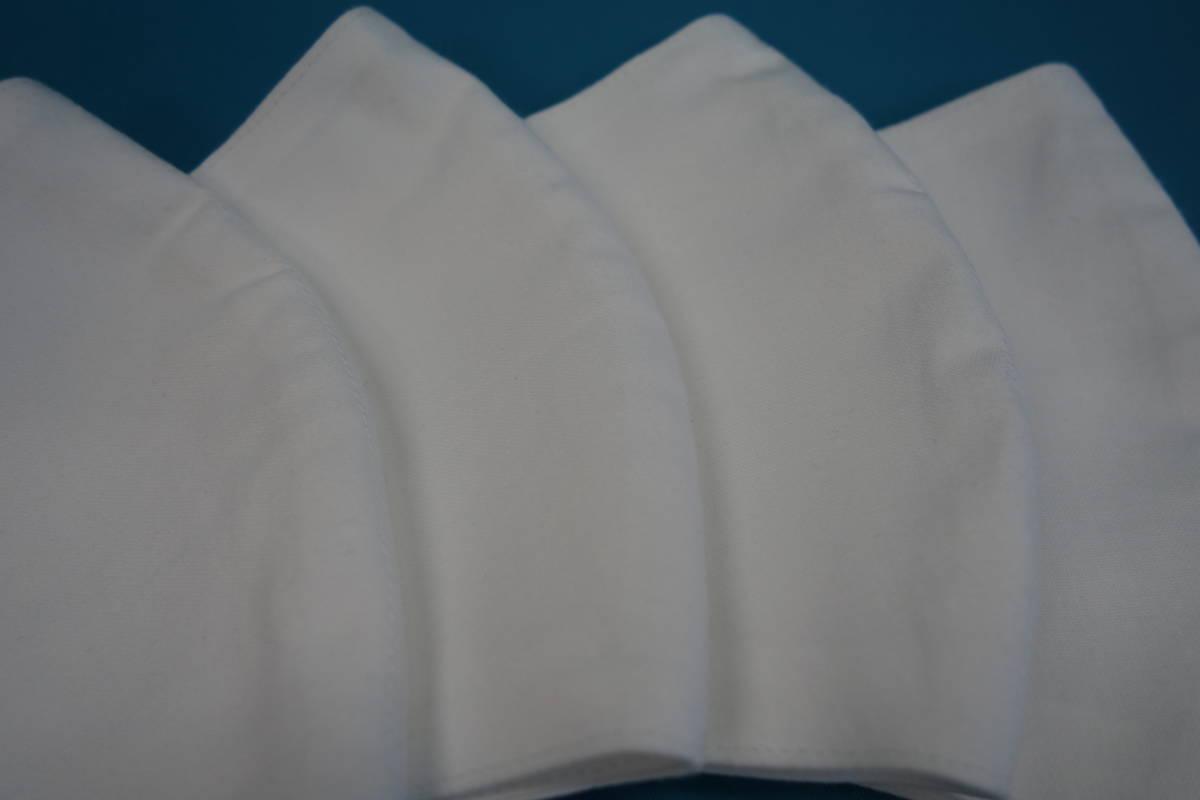 【2枚セット】◆綿100% ◆晒 ◆白 ◆シンプル ◆マスク用ゴム ◆立体 ◆手作り ◆使い捨てマスク節約 ◆マスクカバー ◆インナー_画像7