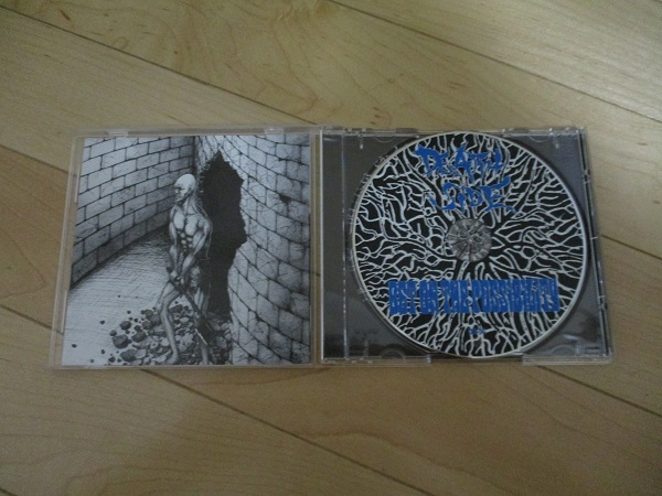 【GAUZE/鉄アレイ】DEATH SIDE/BET ON THE POSSIBILITY 美品CD/THE EXECUTE/LIP CREAM/SYSTEMATIC DEATH/PAINTBOX/FORWARD_画像2